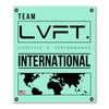 Live Fit Apparel International Banner - Teal - LVFT