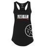 Live Fit Apparel LADIES JAPAN PRESTIGE TANK - BLACK - LVFT