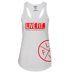 LADIES JAPAN PRESTIGE TANK - WHITE