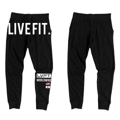 JAPAN WORLDWIDE JOGGERS - BLACK