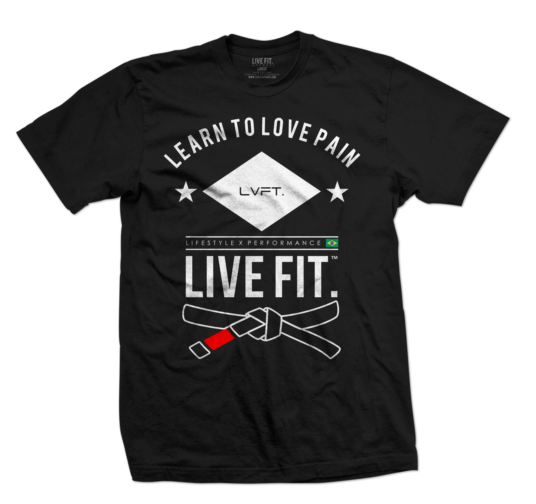 Live Fit Jiu Jitsu- Black