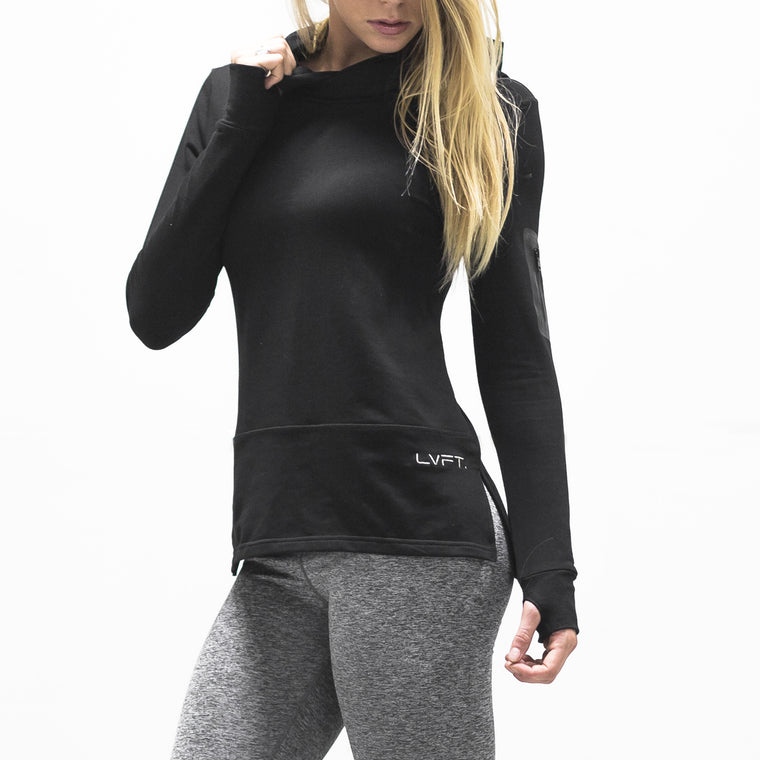 Women's Assassin Hoodie- Black