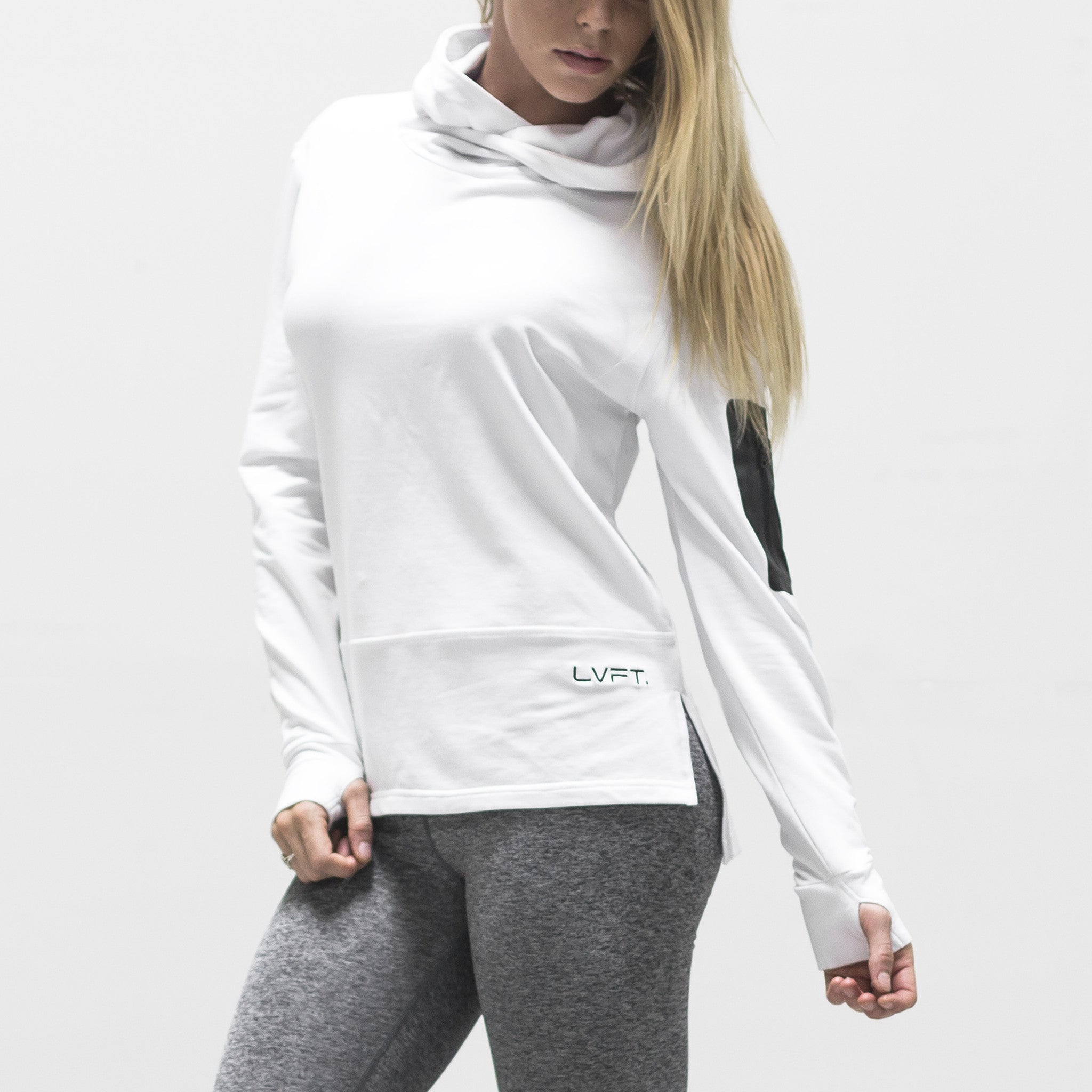 Women's Assassin Hoodie- White