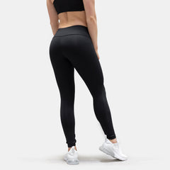 Flash Leggings - Black / Coral