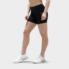 Performance Mid Waisted Shorts - Black