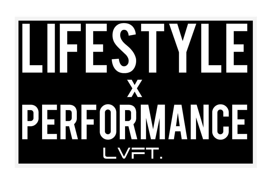 Lifestyle x Performance Sticker