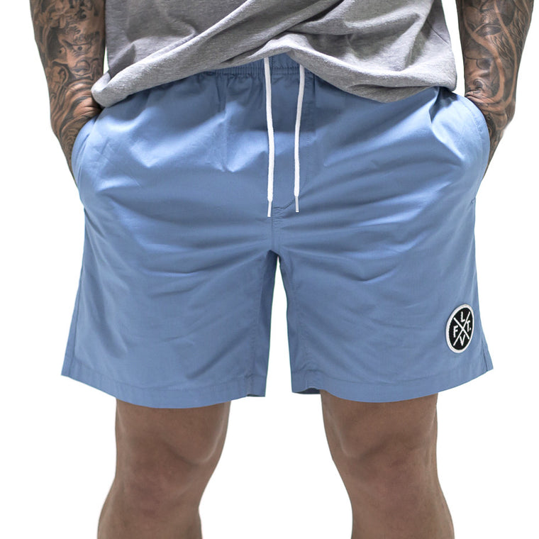 Pacific Shorts- Coastal Blue