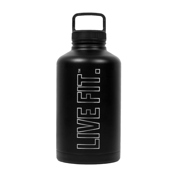 Live Fit Stainless Steel Bottle - Black