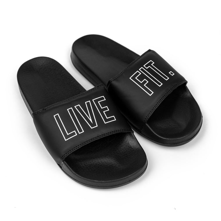 Live Fit. Outline Slides - Black/White