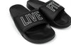 Live Fit Apparel Live Fit. Outline Slides - Black/White - LVFT