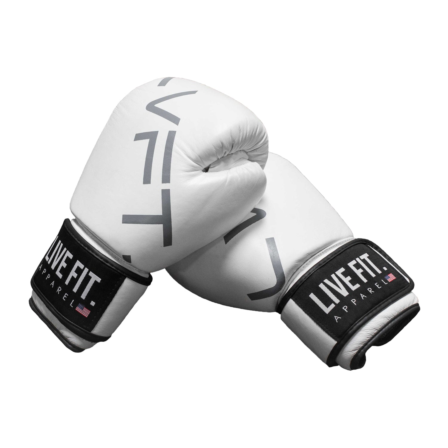 Thai Boxing Gloves- LVFT LOGO