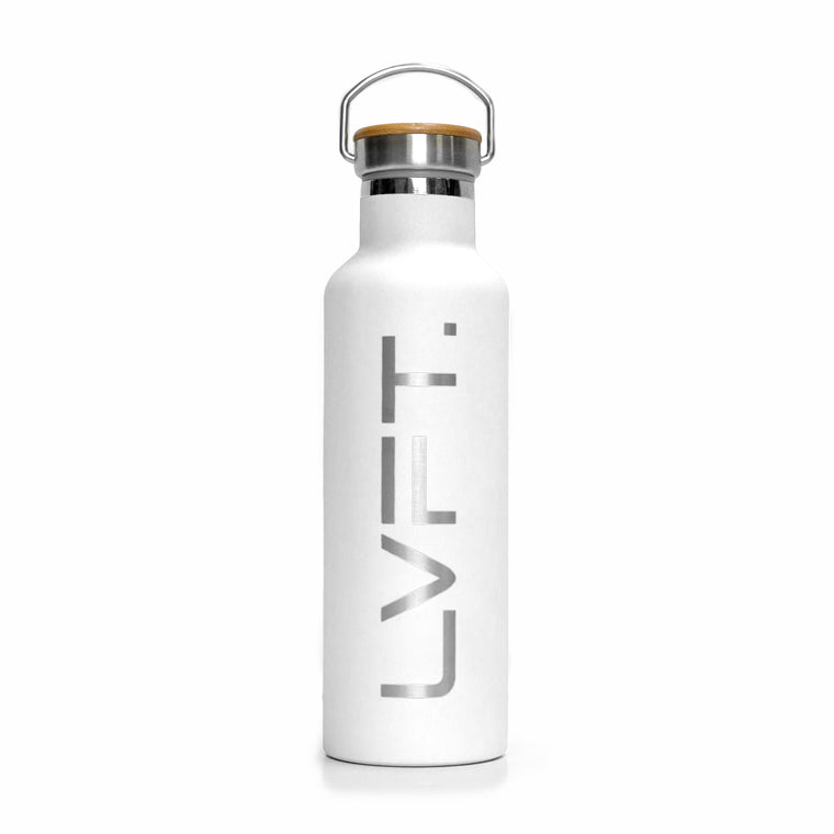 Stainless Steel 25oz - White