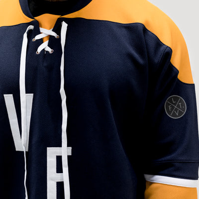 Live Fit Apparel Crosscheck Hockey Jersey - LVFT
