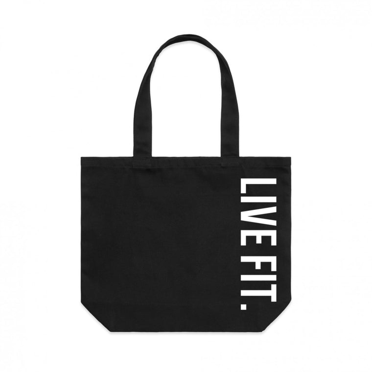 Live Fit Tote Bag