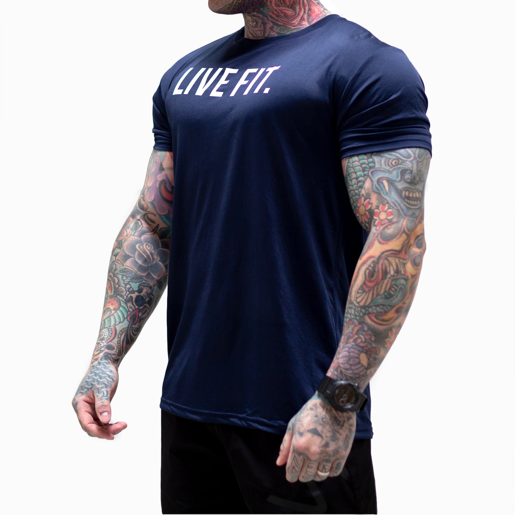 Core Tech Tee - Navy