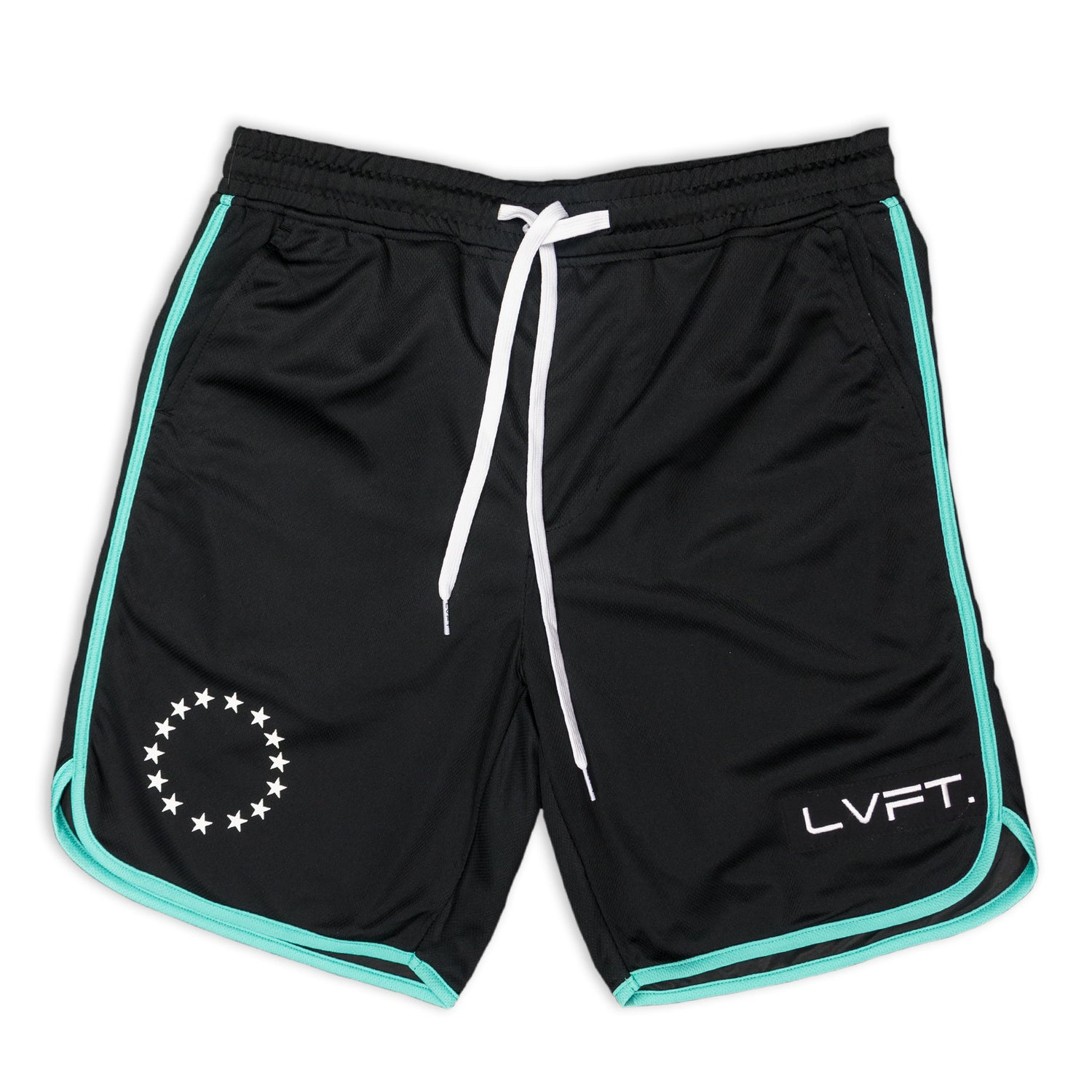 All Star Active Shorts - Black/Teal
