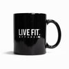 Live Fit Apparel Live Fit. Coffee Mug - LVFT
