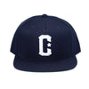 Live Fit Apparel C Snapback - Navy/White - LVFT