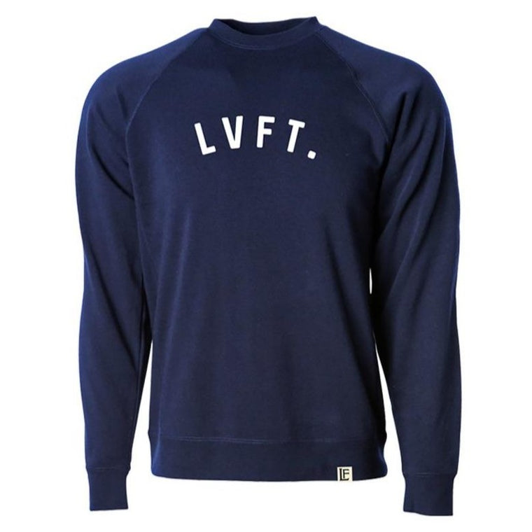 University Crewneck - Navy / White
