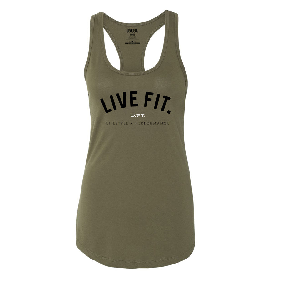 New Standard Racerback Tank - Military Green