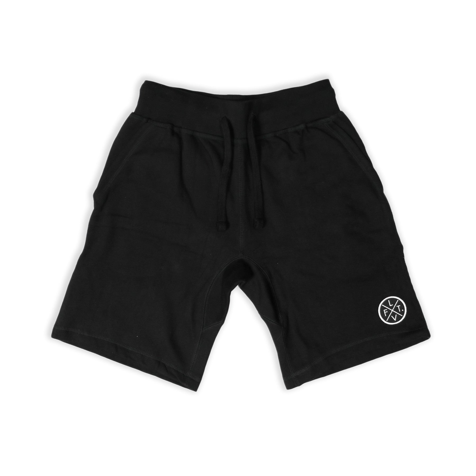 Prestige Worldwide Sweat Shorts - Black
