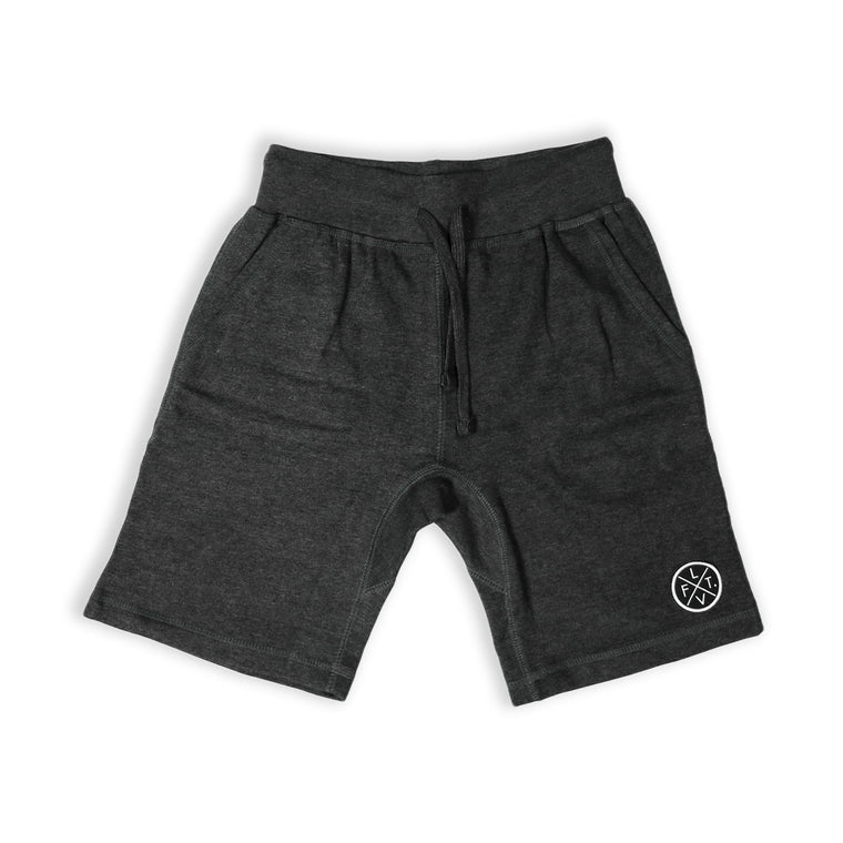Prestige Worldwide Sweat Shorts - Charcoal