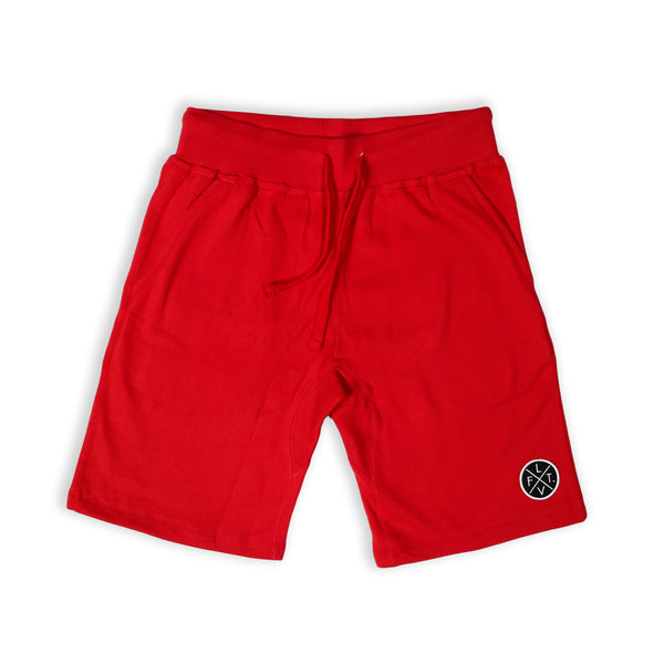 Prestige Worldwide Sweat Shorts - Red