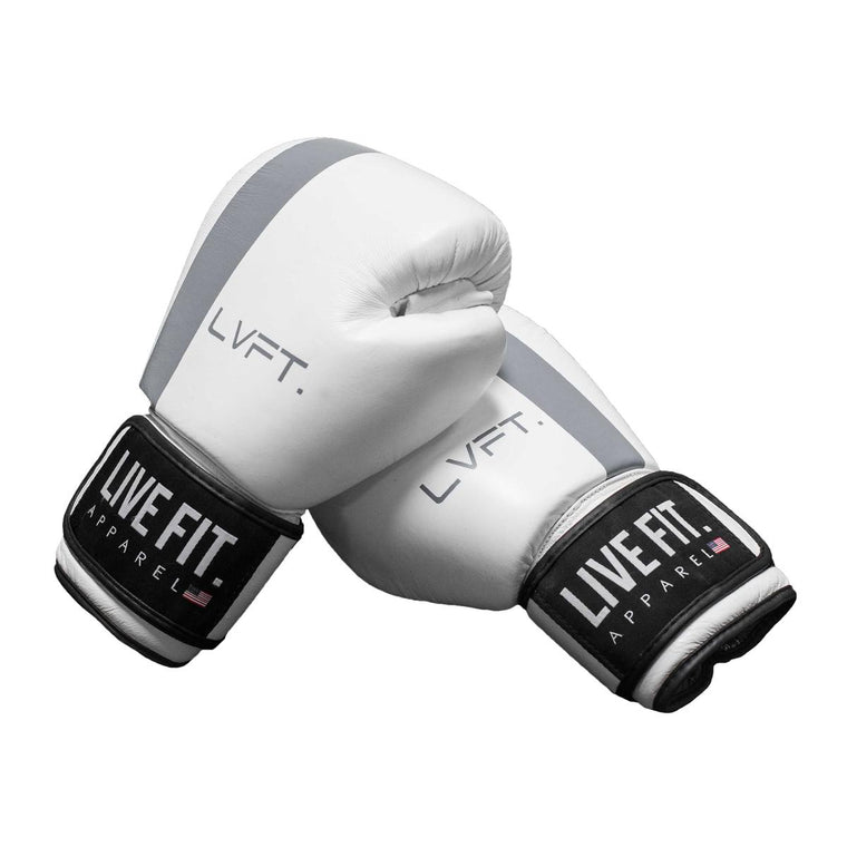 Thai Boxing Gloves- LVFT Stripe