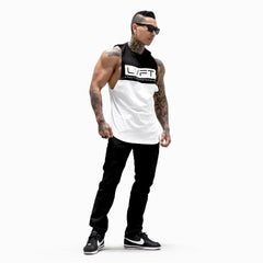 Divided Tank - Black / White