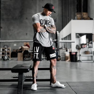 Live Fit Apparel - 0012 Tee - Charcoal Heather - LVFT