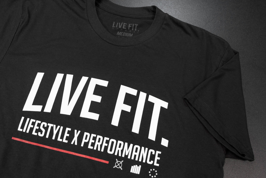 Lifestyle Performance Tee - Black