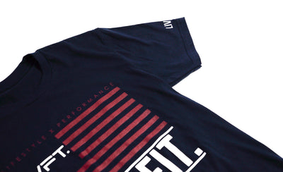 LVFT Flag Tee - Navy/Red