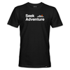 Seek Adventure Tee - Black