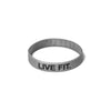 Live Fit Apparel Live Fit. Band - Silver - LVFT