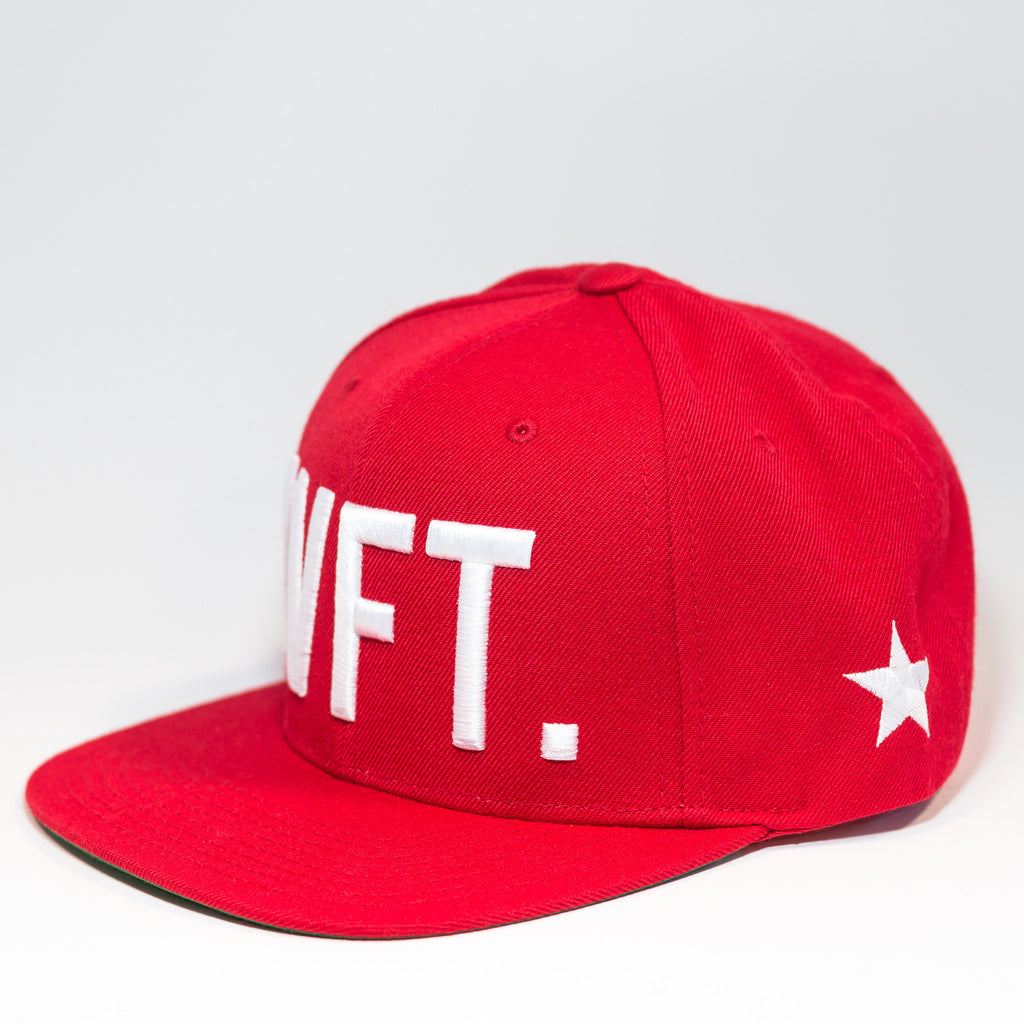 Capital Snapback - Red/ White