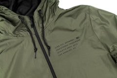 Stealth Pullover Anorak - Army Green
