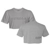 Stealth Crop Tee - Grey