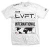 Live Fit Apparel International Tee - White - LVFT