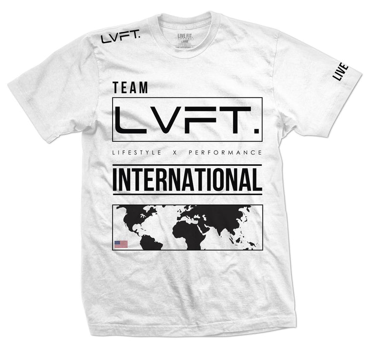 International Tee - White