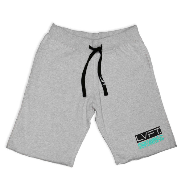 Cement Sweat Shorts-Grey