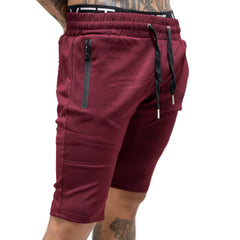 Tech-Shorts - Burgundy