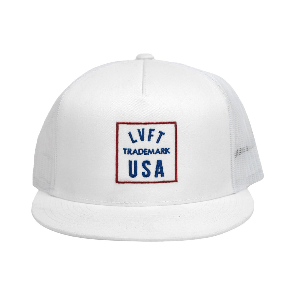 Trademark Trucker Hat- White