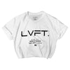 TRD Mark Crop Tee - White