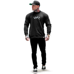 University Crewneck - Black / White