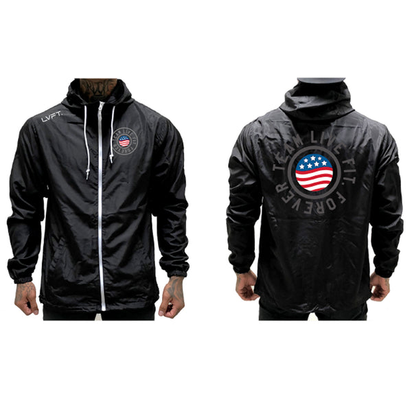 United Windbreaker - Black