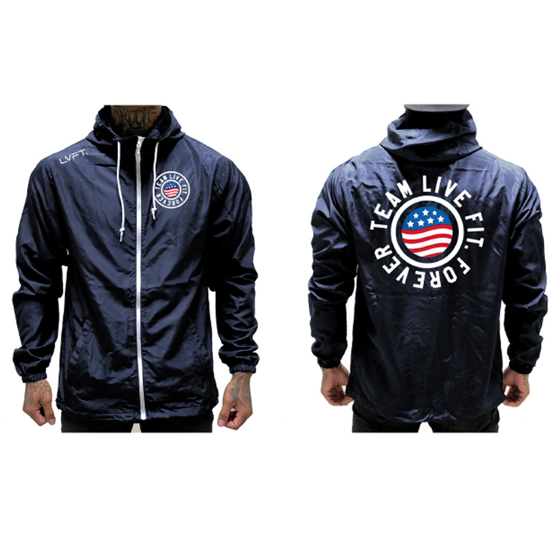 United Windbreaker - Navy
