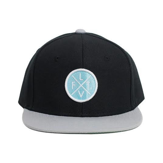 Prestige Worldwide Snapback - Black/Teal
