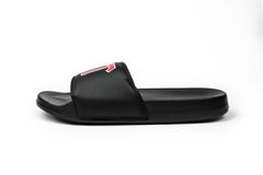 LVFT. Varsity Slides - Black/Red
