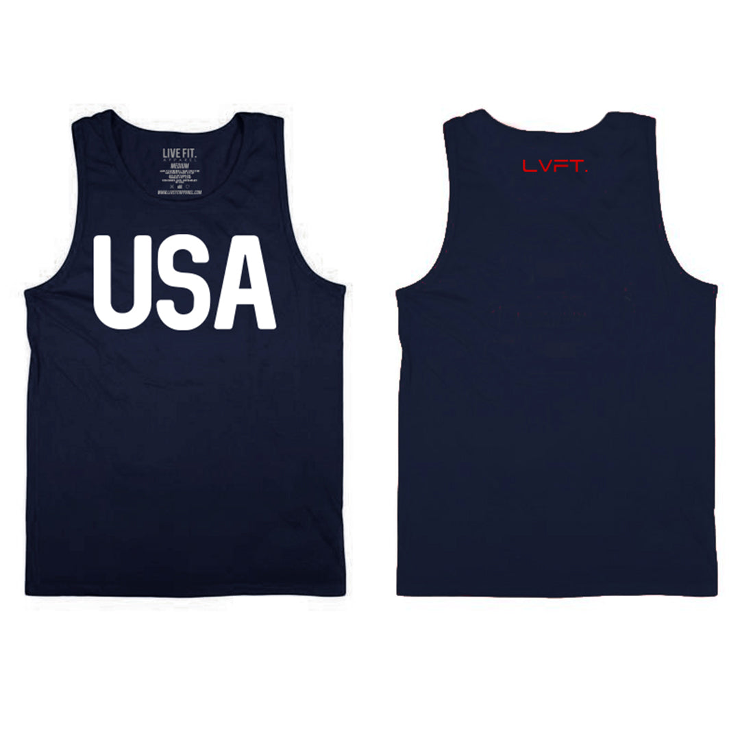 Victory Mens Tank - Dark Navy