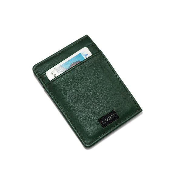 Live Fit Card Wallet- Olive
